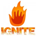 Ignite Logo - Flame & Text