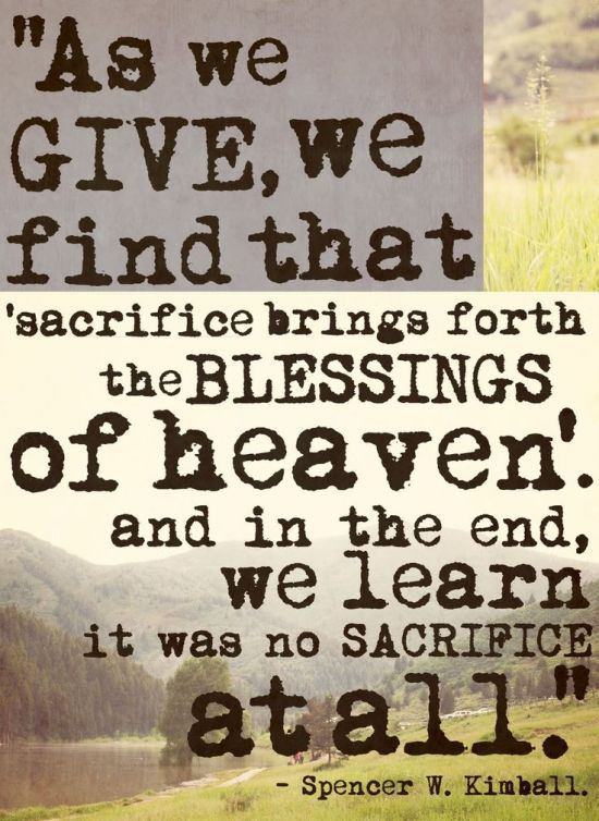 sacrifice-brings-forth-blessings