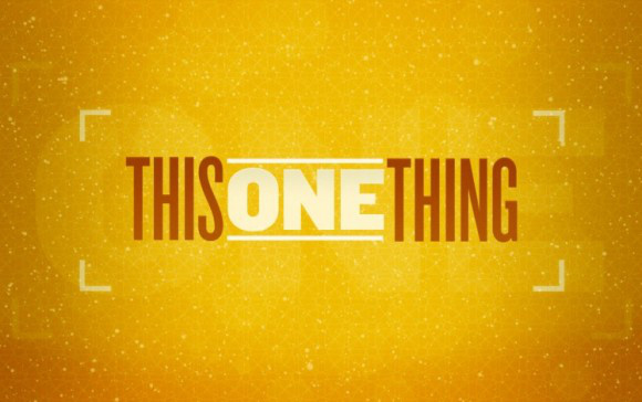 this-one-thing