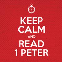 Keep Calm - Read 1 Peter