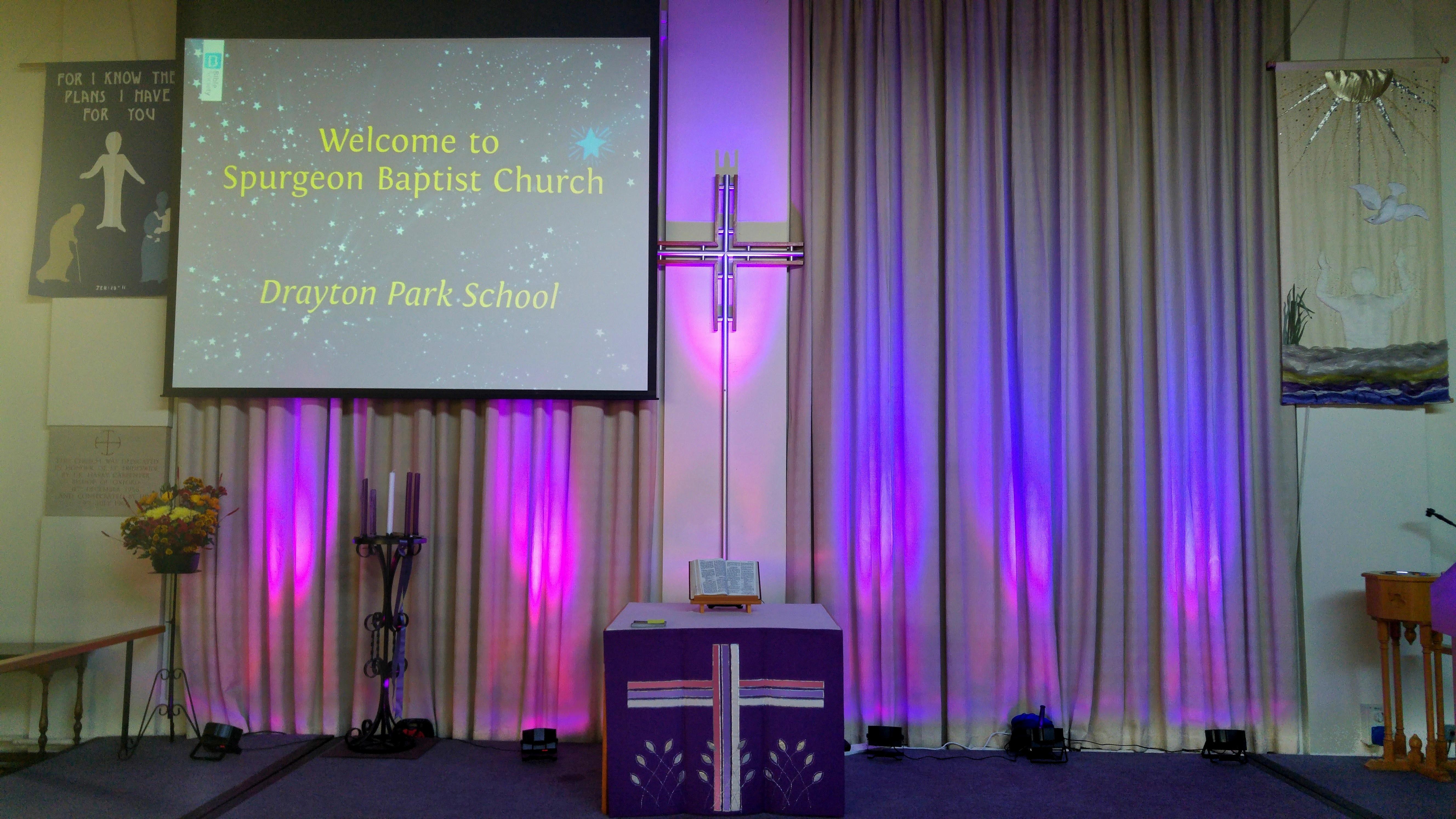 Welcome to Spurgeon Baptist Church