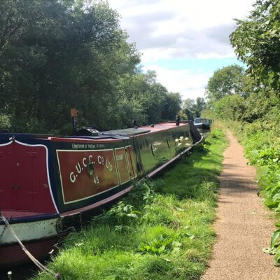 canal, grand union, boat